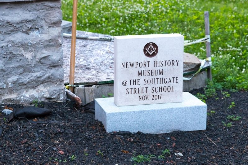 Newport History Museum @ the Southgate Street School, Nov. 2017 image. Click for full size.