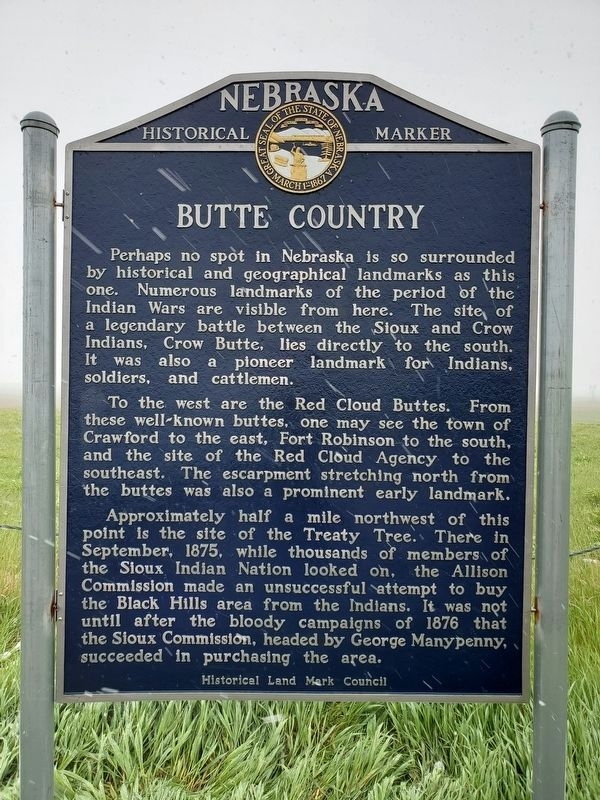 Butte Country Marker image. Click for full size.