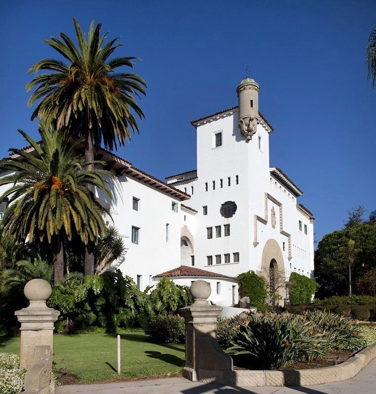 Santa Barbara County Courthouse image. Click for full size.
