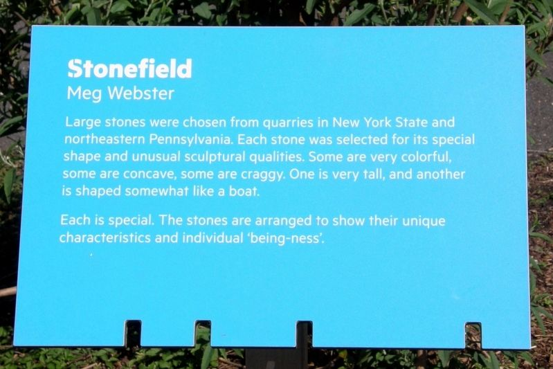 Stonefield Marker image. Click for full size.