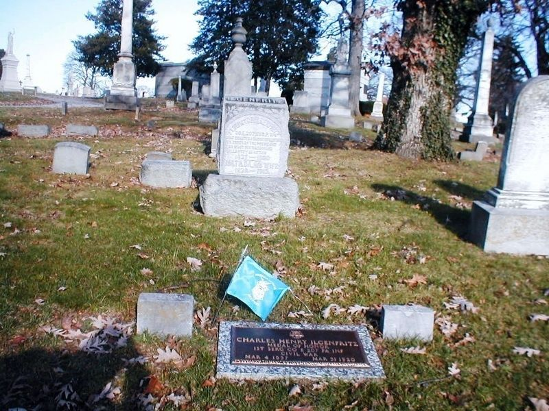 Charles H. Ilgenfritz-buried in Prospect Hill Cemetery image. Click for full size.