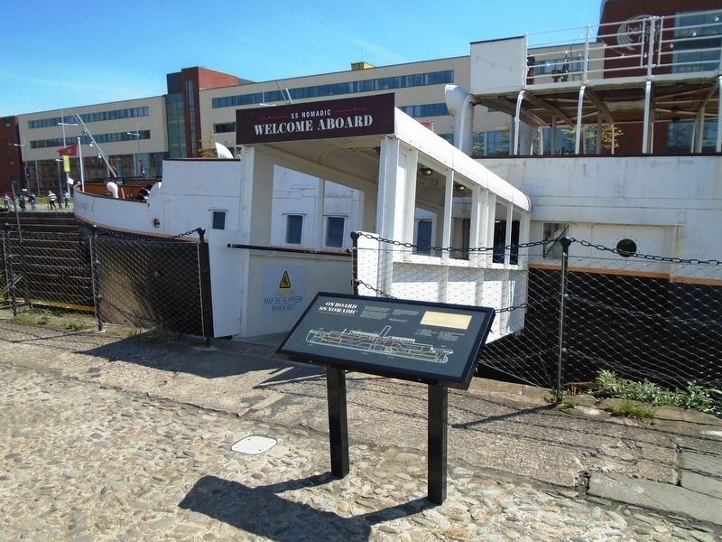 On Board SS Nomadic Marker image. Click for full size.