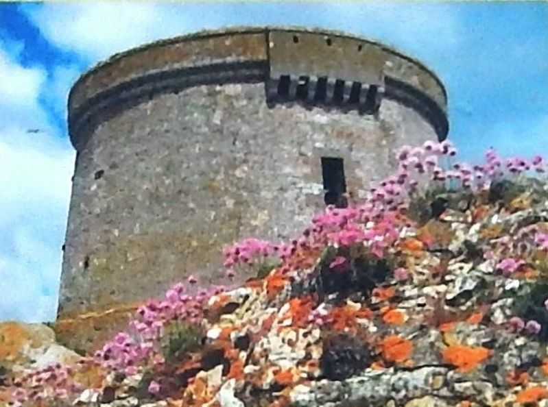 Marker detail: Martello Tower on the Irish island of Ireland's Eye, near Dublin image. Click for full size.