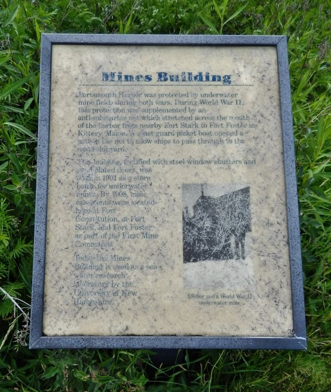 Mines Building Marker image. Click for full size.