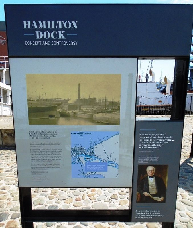 Hamilton Dock Marker image. Click for full size.