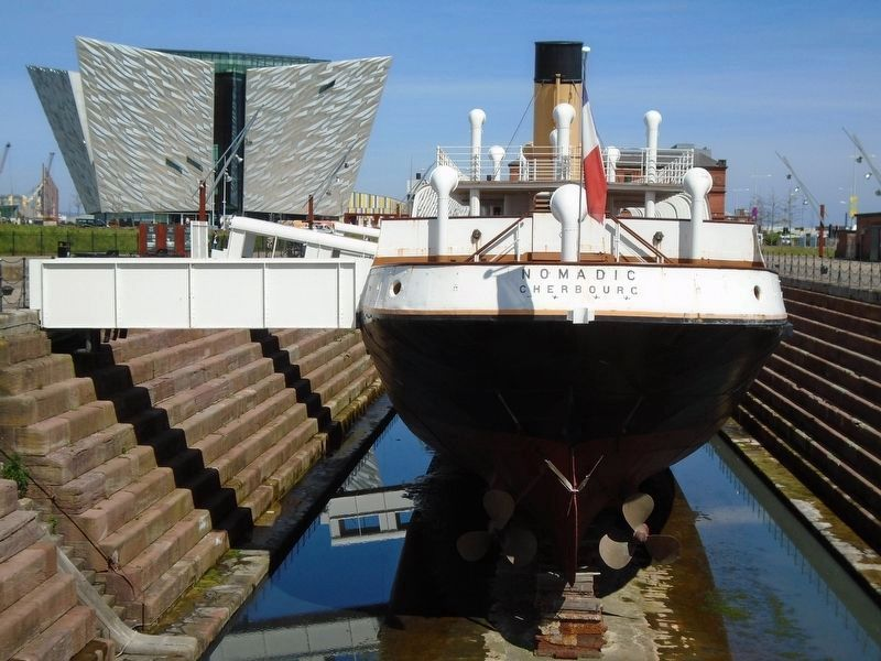 SS Nomadic Stern Poop Deck image. Click for full size.