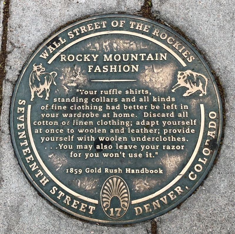 Rocky Mountain Fashion Marker image. Click for full size.