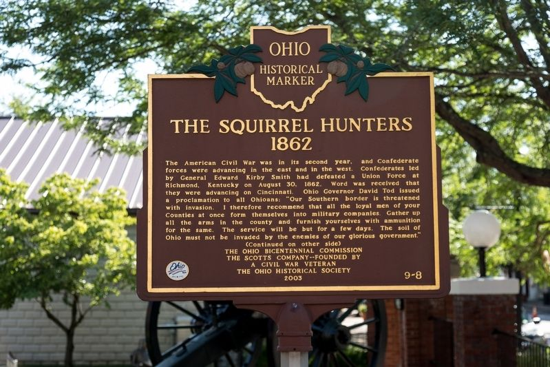 The Squirrel Hunters Marker image. Click for full size.