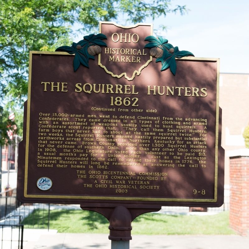 The Squirrel Hunters, side two image. Click for full size.