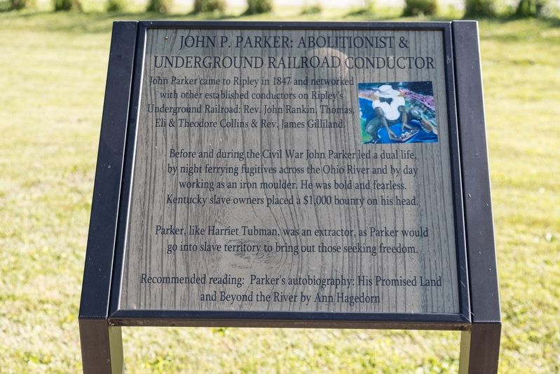 John P. Parker: Abolitionist & Underground Railroad Conductor image. Click for full size.