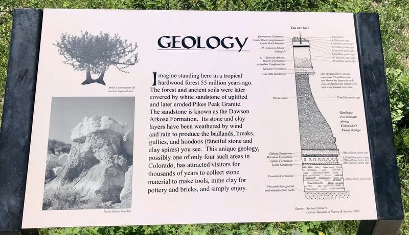 Geology Marker image. Click for full size.