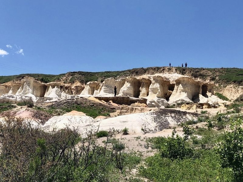 Some of the Paint Mines formations. image. Click for full size.