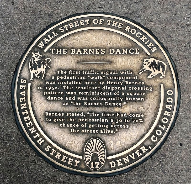 The Barnes Dance Marker image. Click for full size.