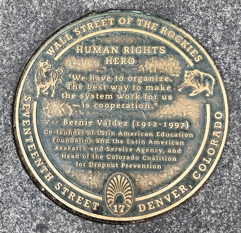Human Rights Hero Marker image. Click for full size.