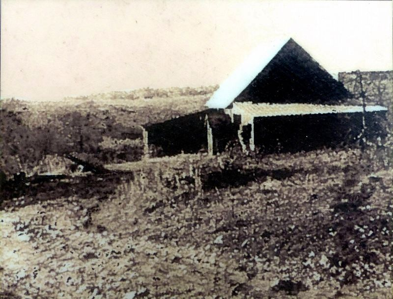 The Dawson Granary pictured as it was in 1919 image. Click for full size.