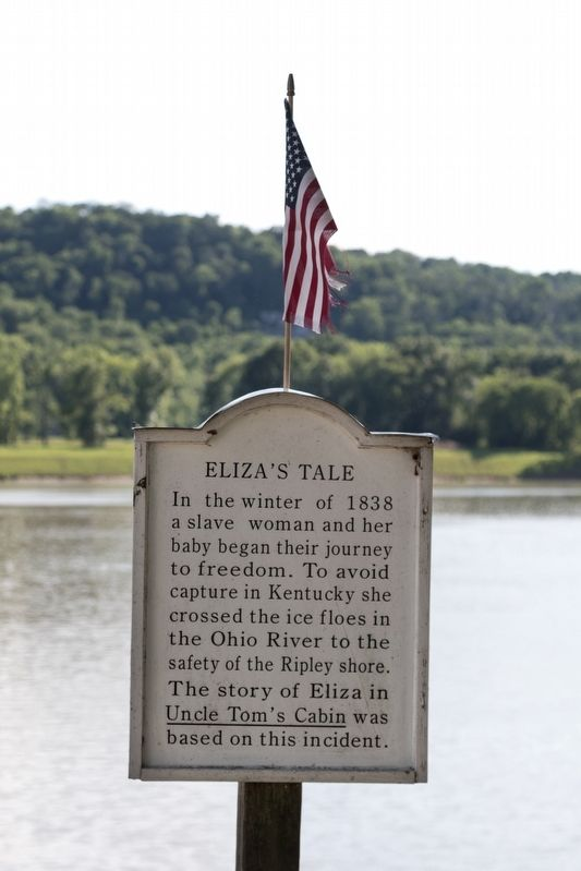 Eliza's Tale Marker image. Click for full size.