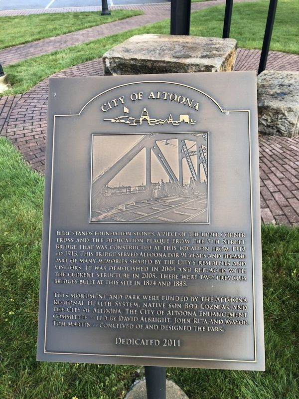 City of Altoona Marker image. Click for full size.