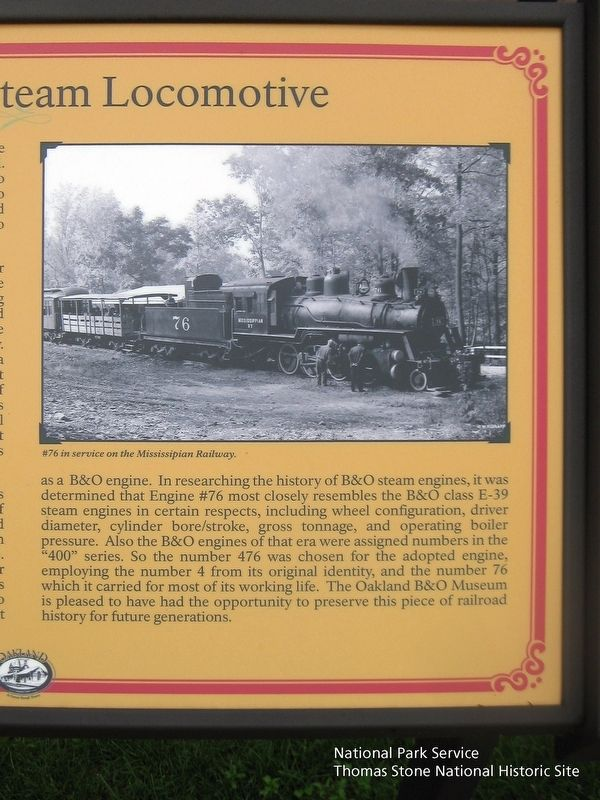 1920 Baldwin Steam Locomotive Marker (right half) image. Click for full size.