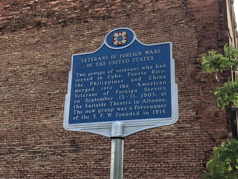Veterans of Foreign Wars of the United States Marker image. Click for full size.
