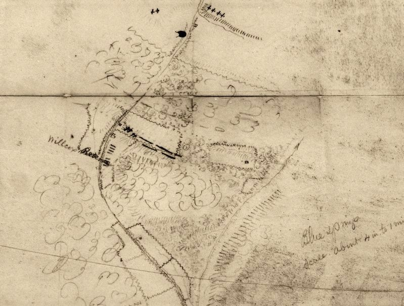 Marker detail: Battle of Blue Springs, 1863 image. Click for full size.