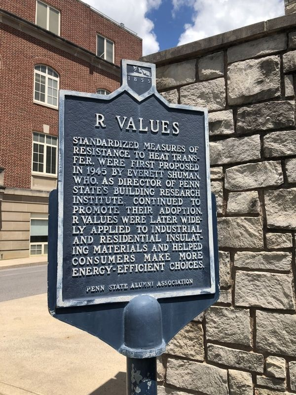 R Values Marker image. Click for full size.