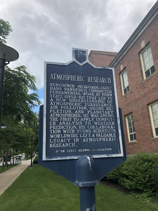 Atmospheric Research Marker image. Click for full size.