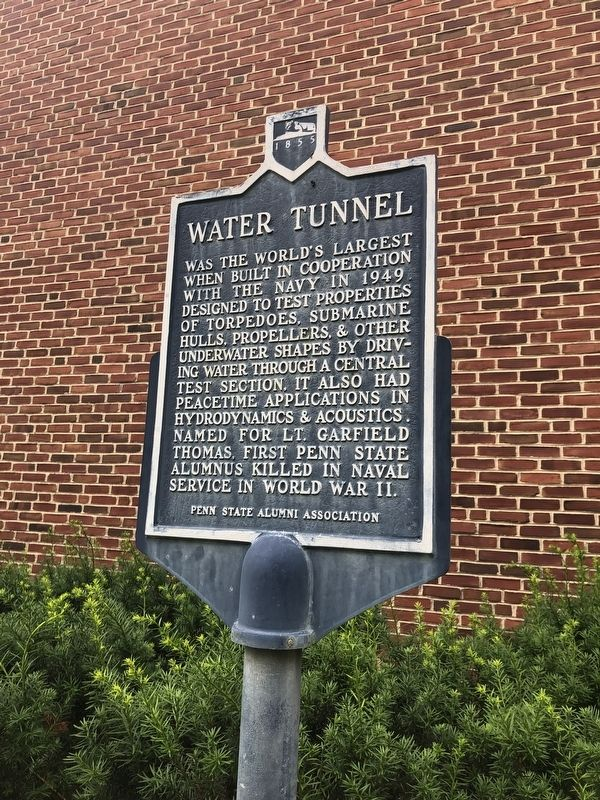 Water Tunnel Marker image. Click for full size.