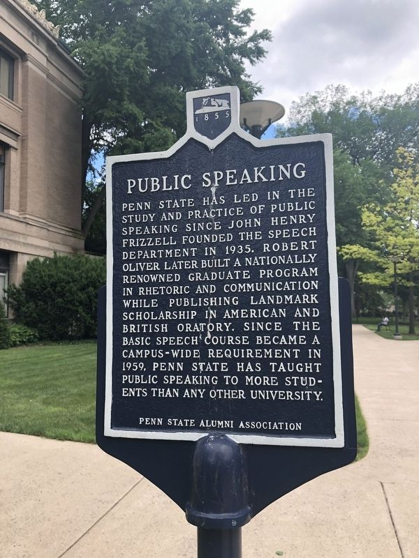 Public Speaking Marker image. Click for full size.