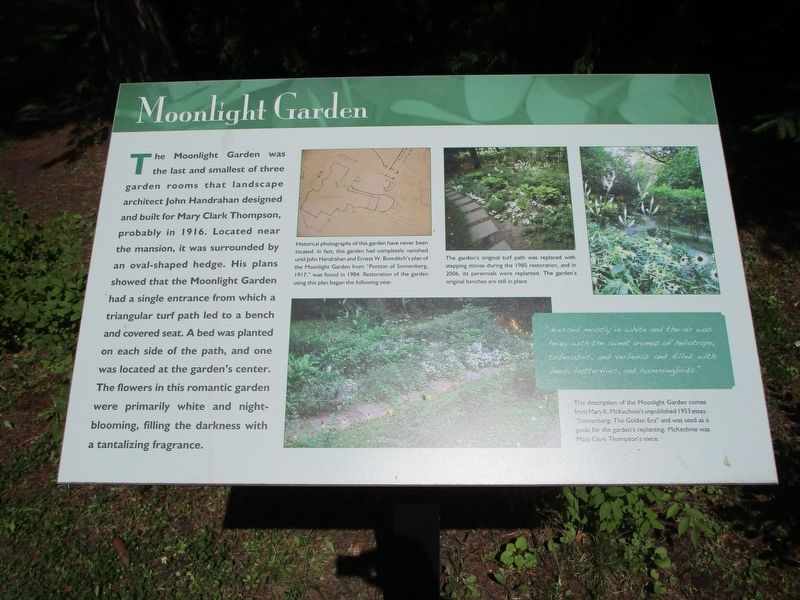 Moonlight Garden Marker image. Click for full size.