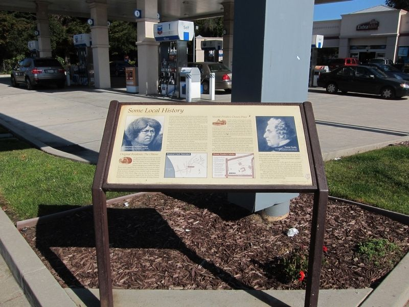 Original Residents: The Ohlone / Vicente Peralta's Chosen Place Marker image. Click for full size.