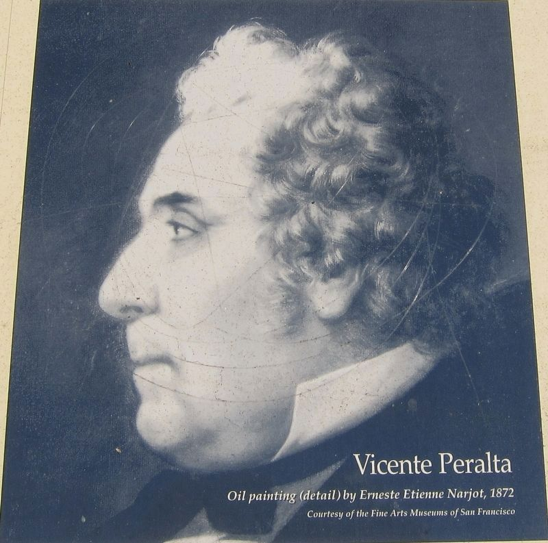 Marker inset: Vicente Peralta image. Click for full size.