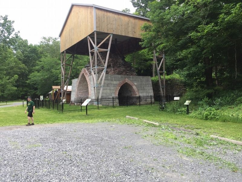 The Blast Furnace at Copake Falls Iron Works image. Click for full size.
