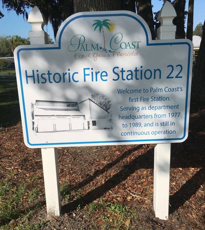 Historic Fire Station 22 Marker image. Click for full size.