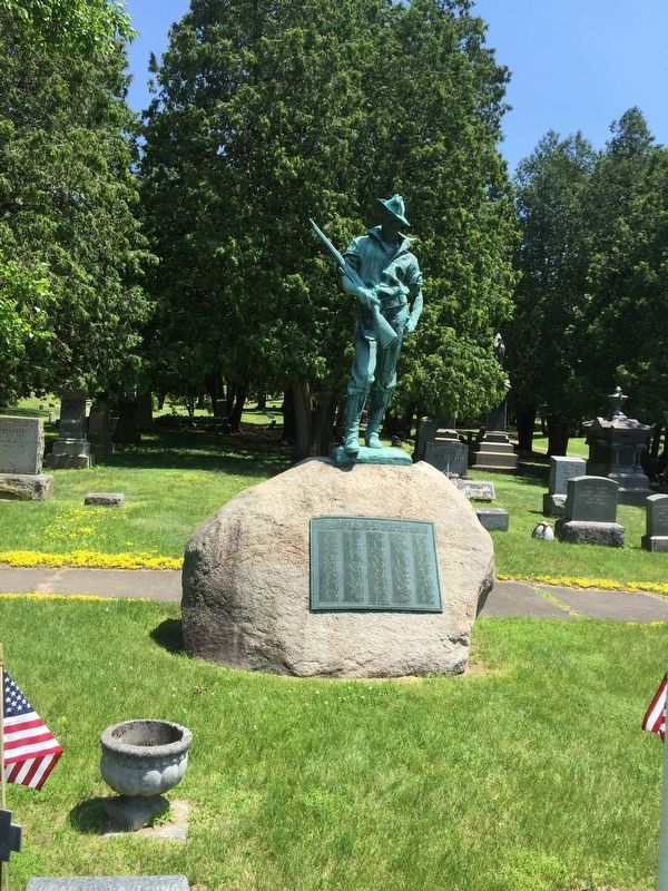 Saratoga County Spanish-American War Memorial image. Click for full size.