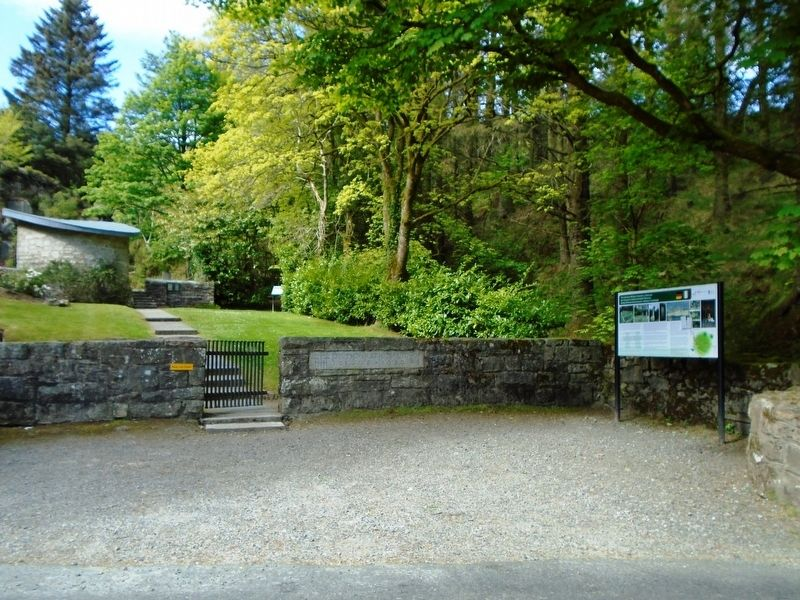 The German Military Cemetery, Glencree and Marker image. Click for full size.