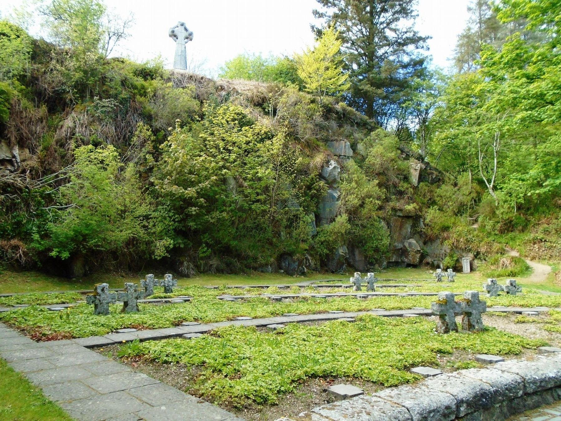 The German Military Cemetery, Glencree image. Click for full size.