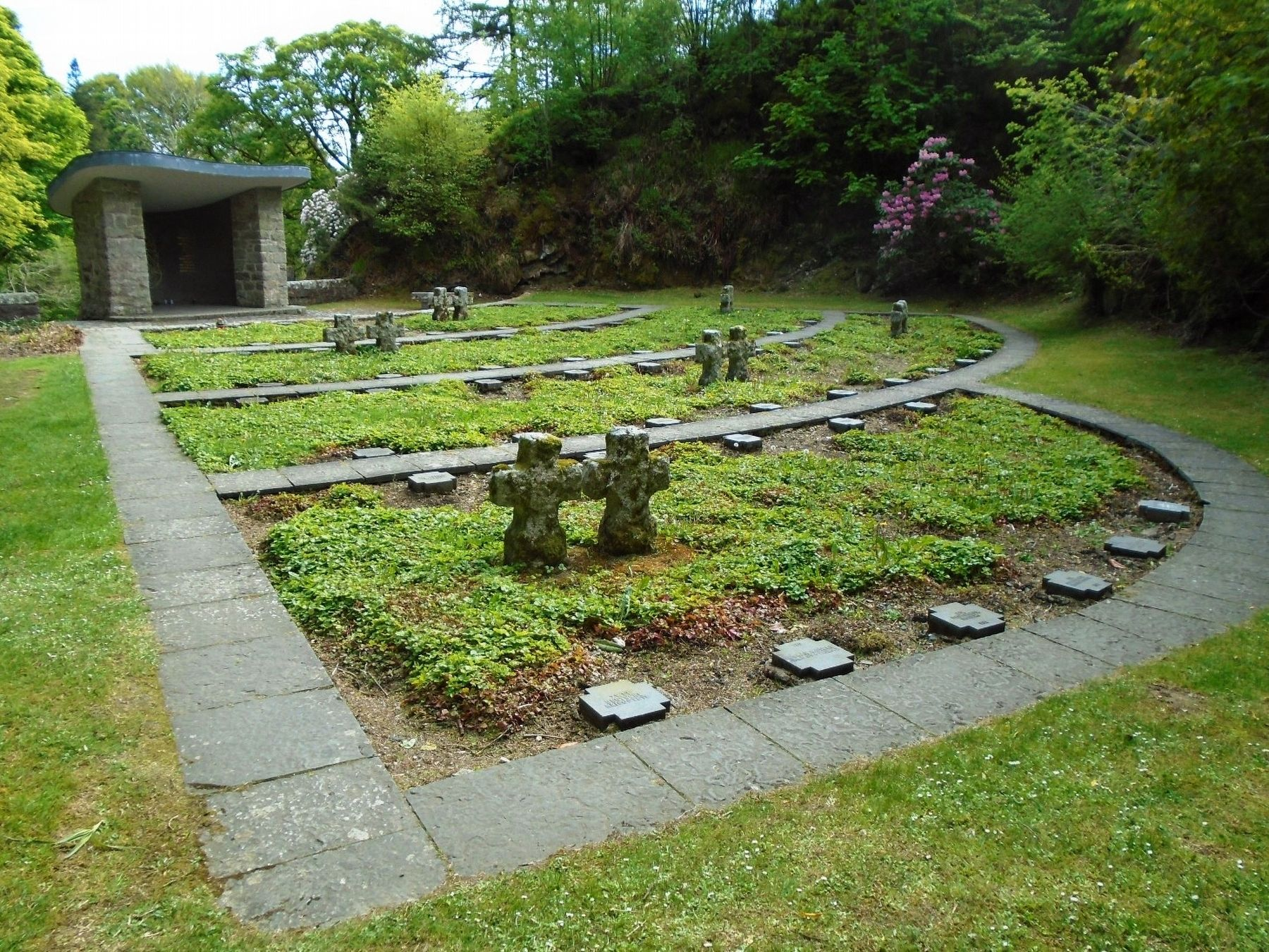 The German Military Cemetery, Glencree Marker image. Click for full size.