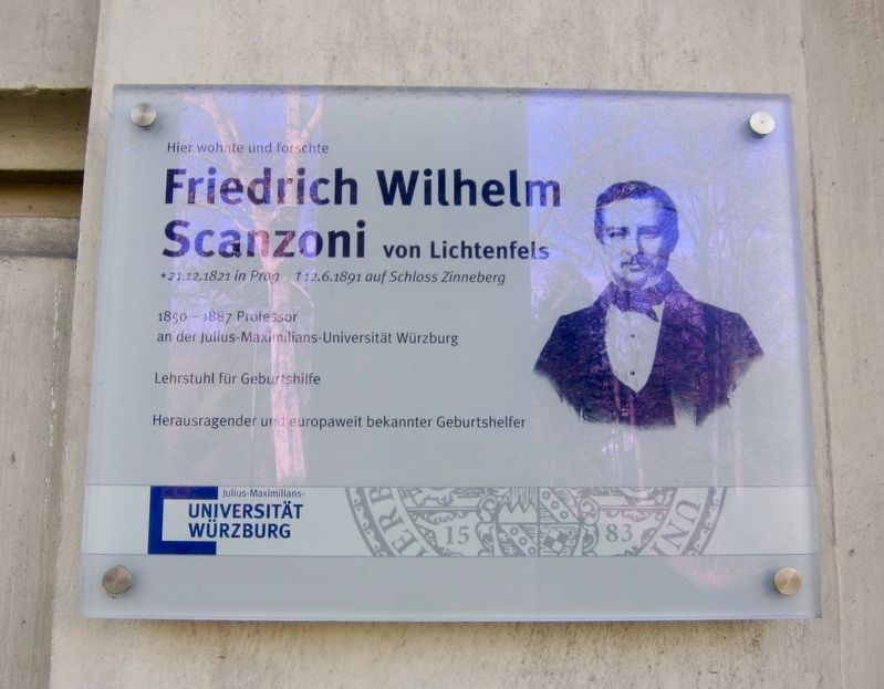 Friedrich Wilhelm Scanzoni <small>von Lichtenfels</small> Marker image. Click for full size.