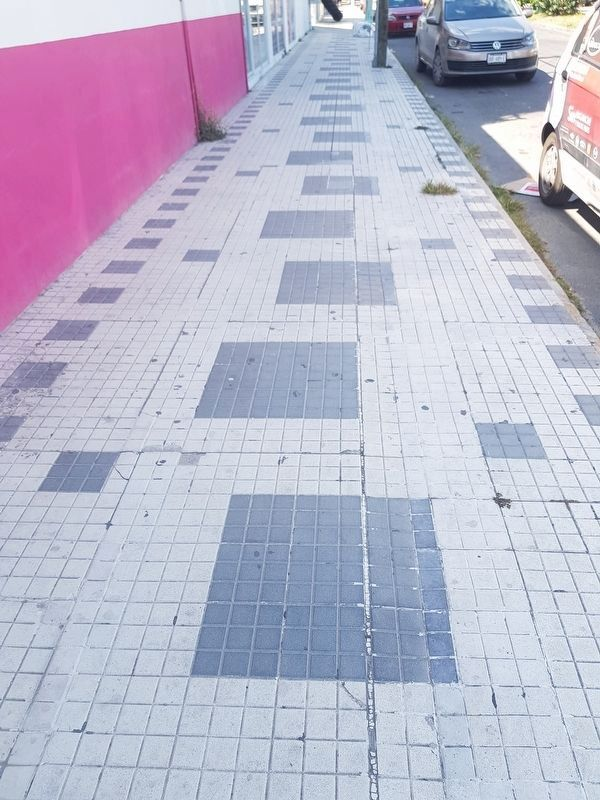 Remnants of Chetumal's Sidewalks image. Click for full size.