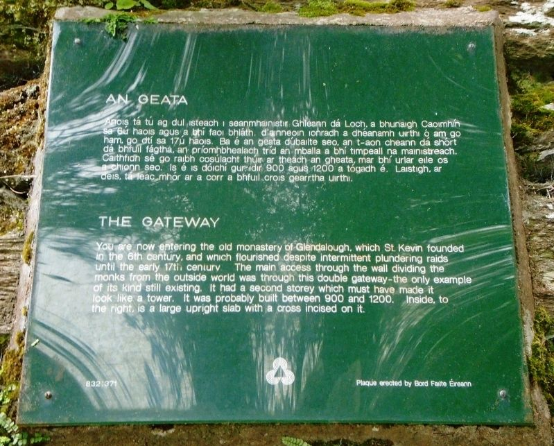 An Geata / The Gateway Marker image. Click for full size.