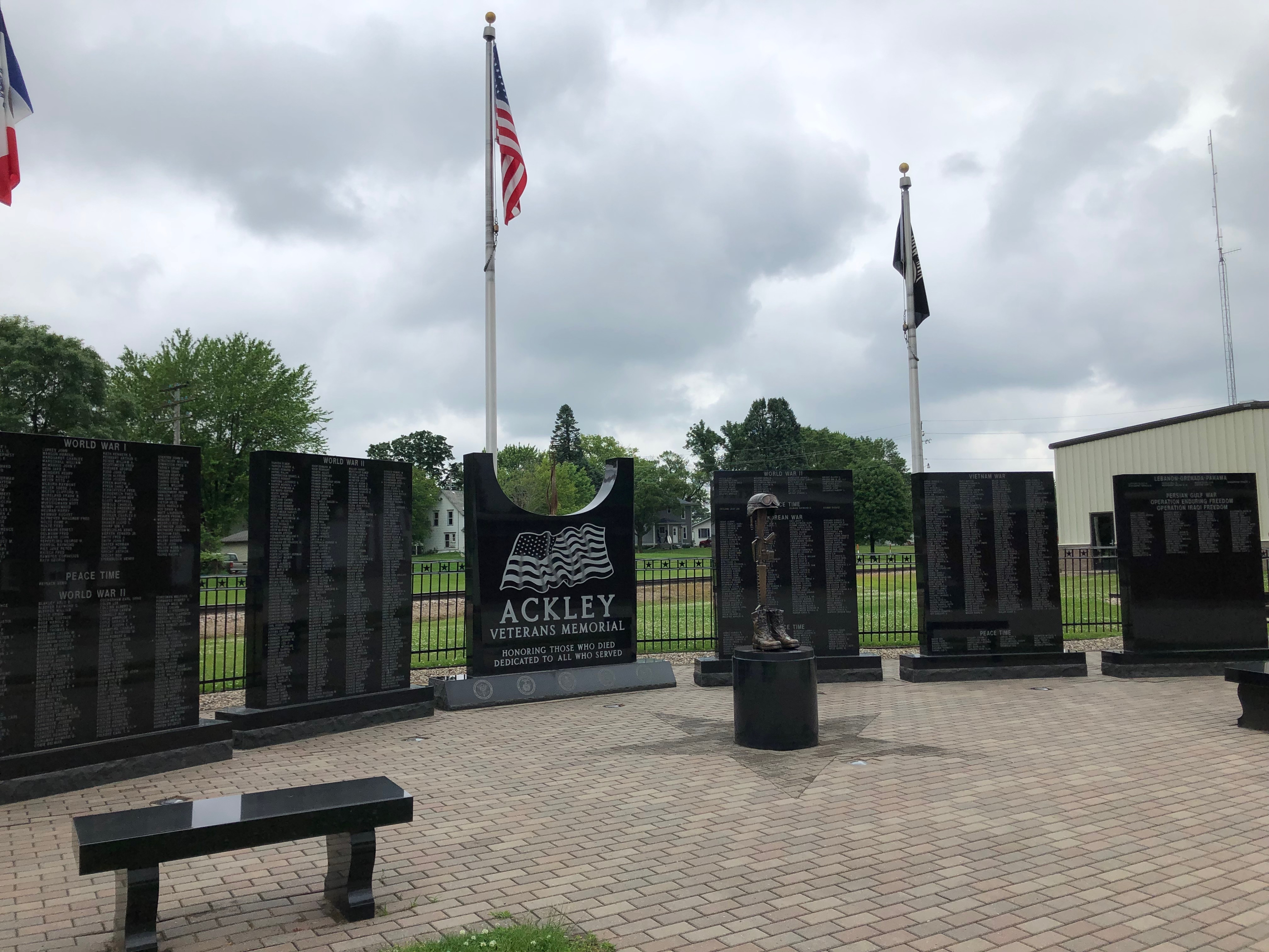 Ackley, Iowa Veterans Memorial