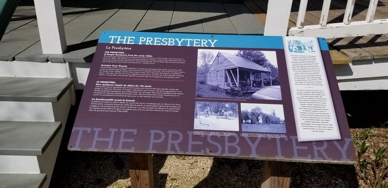 The Presbytery Marker image. Click for full size.