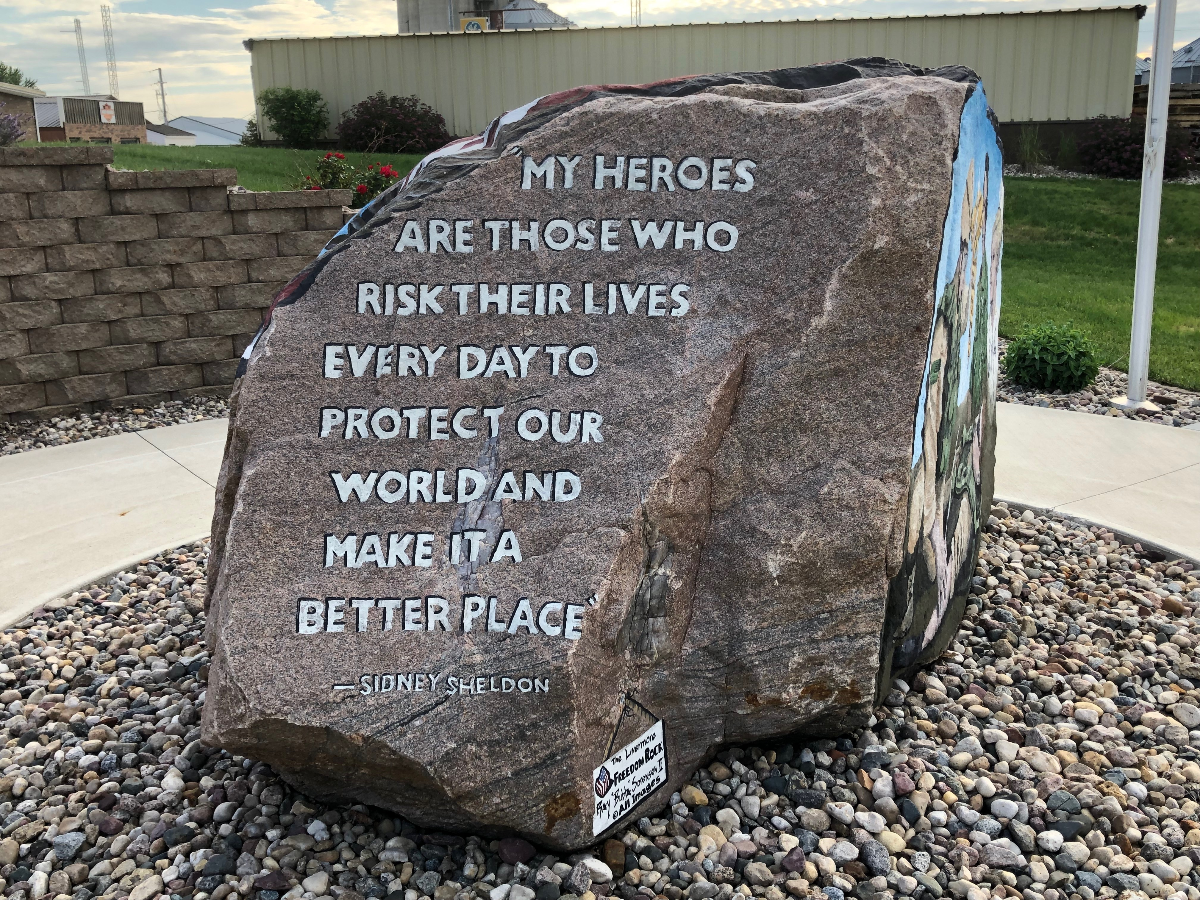 Livermore Freedom Rock Veterans Memorial