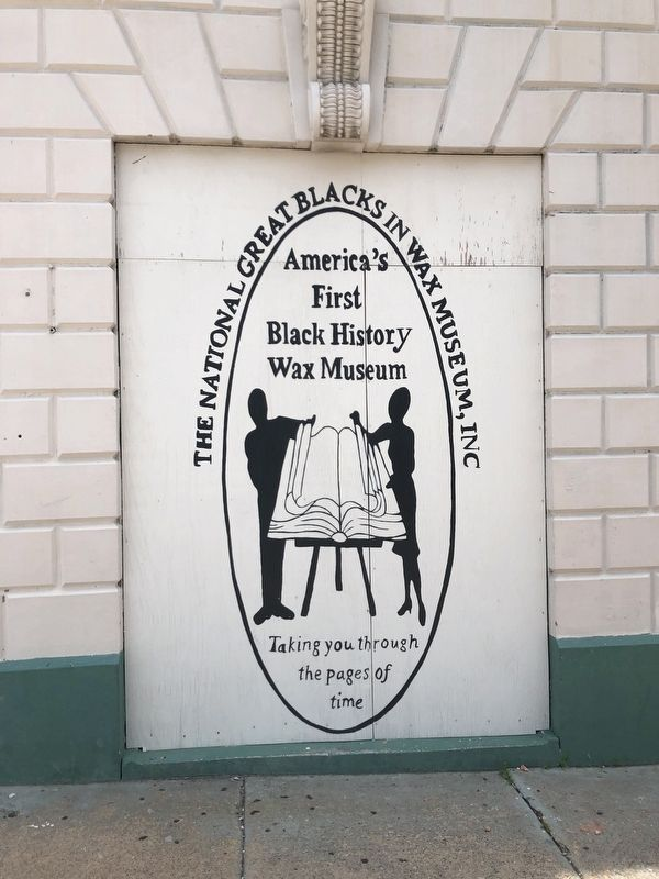 The National Great Blacks in Wax Museum, Inc. Marker image. Click for full size.