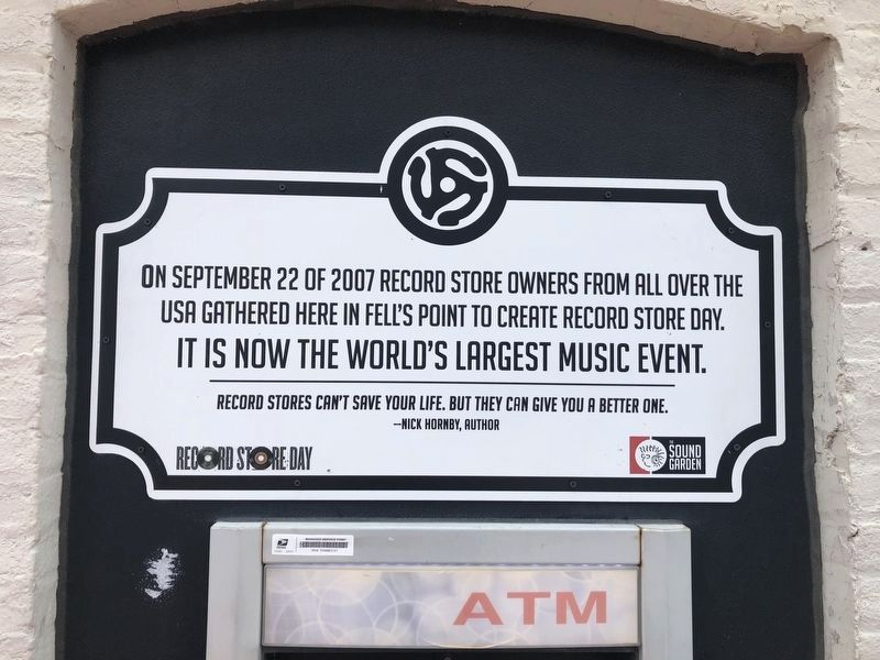 Record Store Day Marker image. Click for full size.