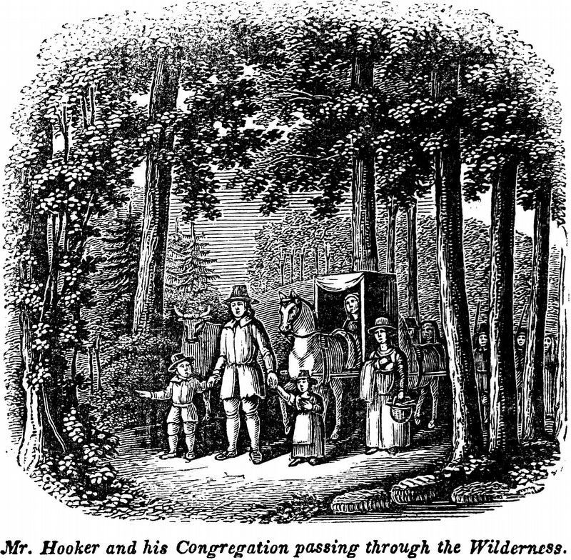 The First Settlers of Connecticut image. Click for full size.