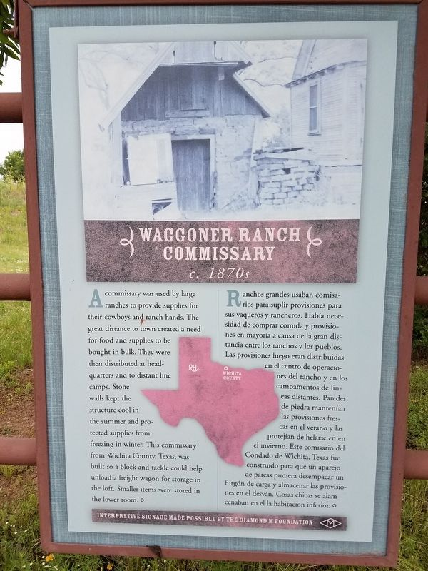 Waggoner Ranch Marker image. Click for full size.