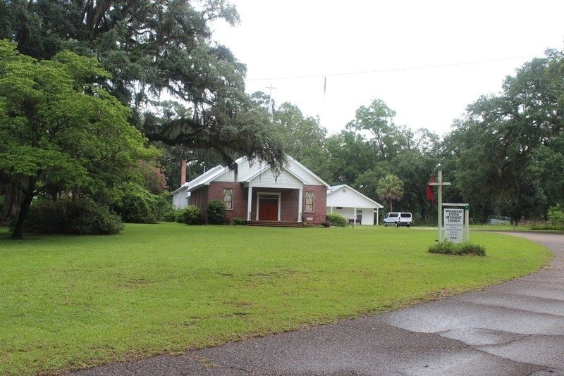 175th Anniversary of the Waukeenah United Methodist Church image. Click for full size.