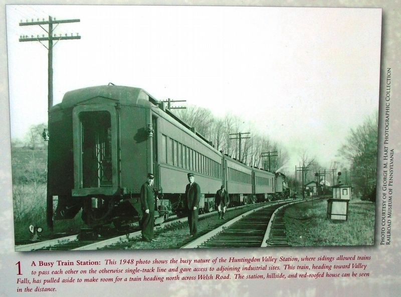 Photo 1 on All Aboard for Valley Falls Marker image. Click for full size.
