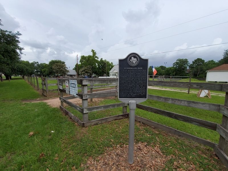 Wunderlich Farm Marker image. Click for full size.